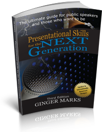 Presentational Skills for the Next Generation book by author Ginger Marks