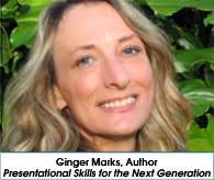 Ginger Marks Author Presentational Skills for the Next Generation